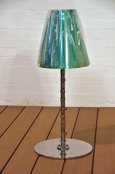 E Type Jaguar Table Lamp