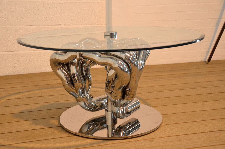 CP0000 Williams F1 exhaust table
