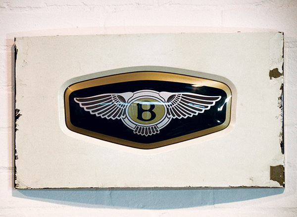 Bentley Showroom Sign